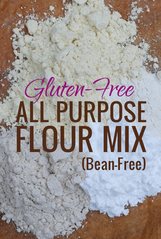 GF All Purpose Flour Mix from She Let Them Eat Cake.Com #glutenfree