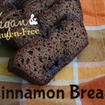 Gluten-Free and Vegan Cinnamon Bread
