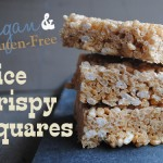Vegan & Gluten-Free Rice Crispy Squares Featuring Sweet and Sara Marshmallows