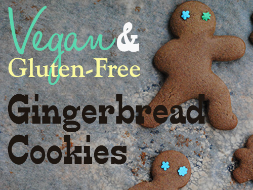 Gluten-Free and Vegan Gingerbread Cookies 2