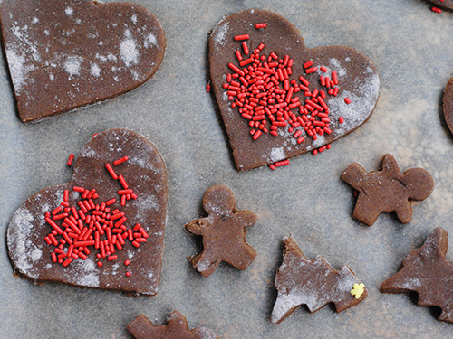 Gluten-Free and Vegan Gingerbread Cookies
