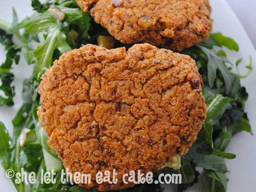 Adzuki Bean and Quinoa Veggie Burgers