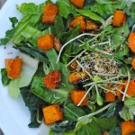 Homemade Roasted Sweet Potato and Squash Salad Dressing