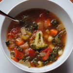 Homemade Rustic Vegetable Soup