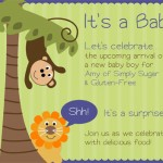 Gluten-Free and Vegan Gingersnaps…and A Baby Shower!