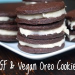 Gluten-Free and Vegan Oreo Cookies (and cupcakes)
