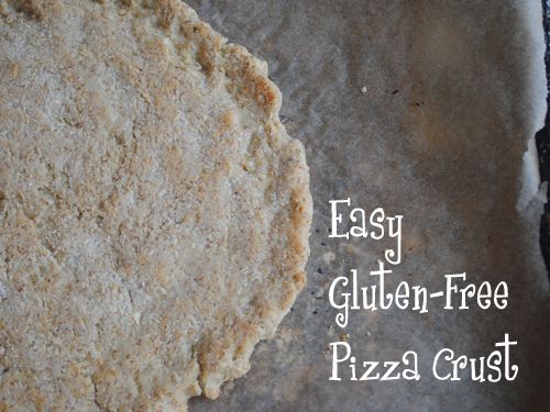 ... for Gluten Free, Egg-Free, Dairy-Free Easy Grain-Free Pizza Crust