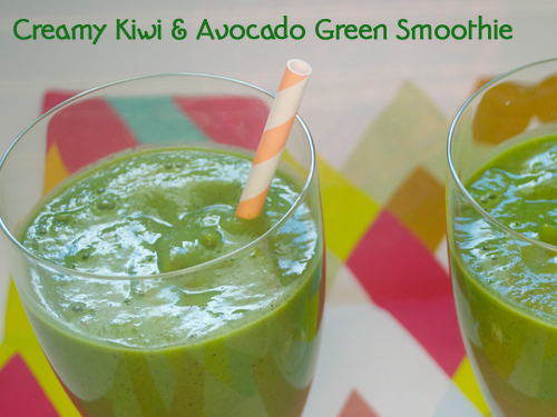 Kiwi & Avocado Smoothie 2-1