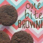 Gluten-Free One Bite Brownies