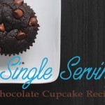 Single Serving Chocolate Cupcake Recipe