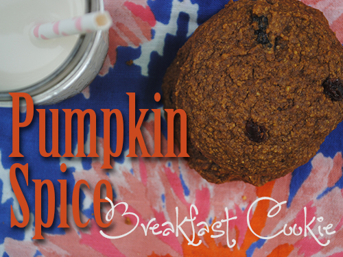 Pumpkin Spice Breakfast Cookie by She Let Them Eat Cake