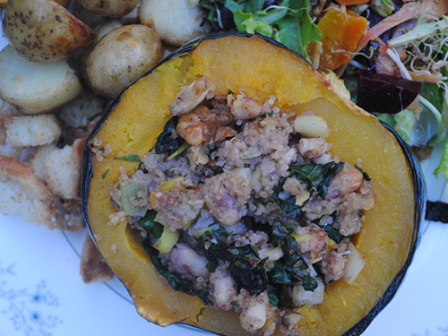 Quinoa and White Bean Stuffed Acorn Squash_ Vegan and Gluten-Free2