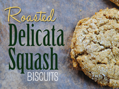 Roasted Delicata Squash Biscuits