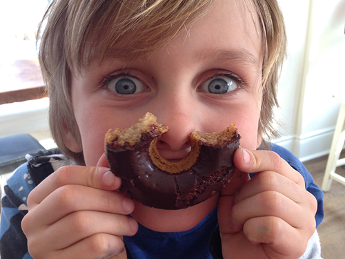 Raising Gluten-Free Kids from She Let Them Eat Cake.Com @MaggieSavage