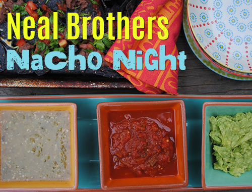 Nacho Night and No-Fuss Bean Dip