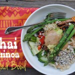 Thai Quinoa Salad Bowl