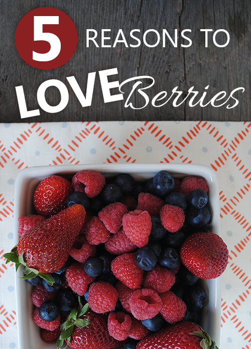 5 Reasons to Love Berries from She Let Them Eat Cake.Com