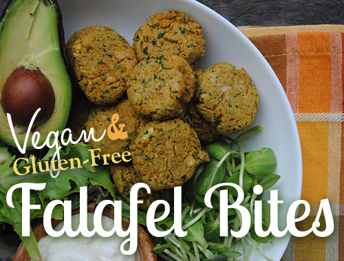 Gluten-Free Falafel Bites from She Let Them Eat Cake 2