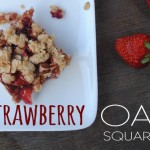 Gluten-Free and Vegan Strawberry Oat Squares
