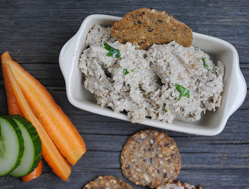Recipe for Vegan and Gluten-Free Sunflower Seed Pate from Gena Hamshaw