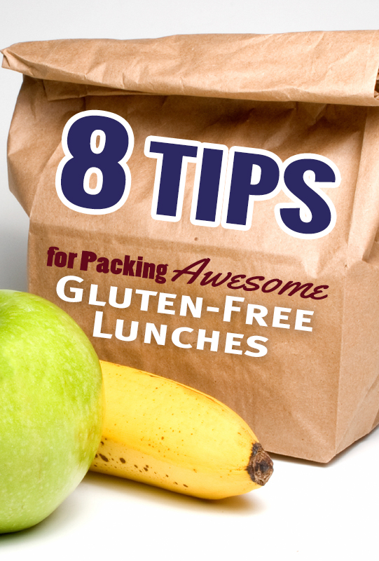8 TIPS FOR PACKING AWESOME #GLUTENFREE LUNCHES from @MaggieSavage She Let Them Eat Cake.Com