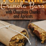 Nut-Free Pumpkin Granola Bars with Chocolate Chunks and Apricots