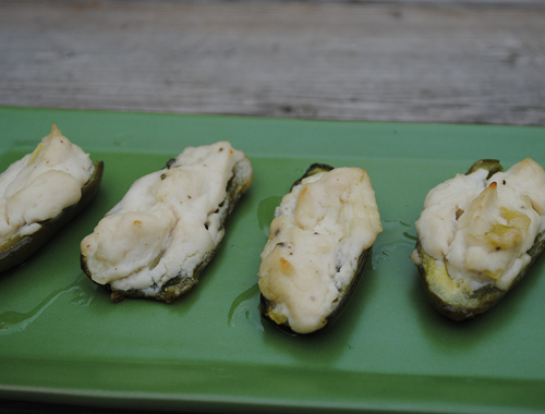 Dairy-Free Jalapeno Poppers from She Let Them Eat Cake.com