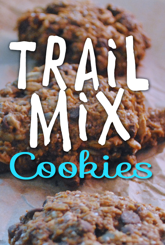trail mix cookies from She Let Them Eat Cake