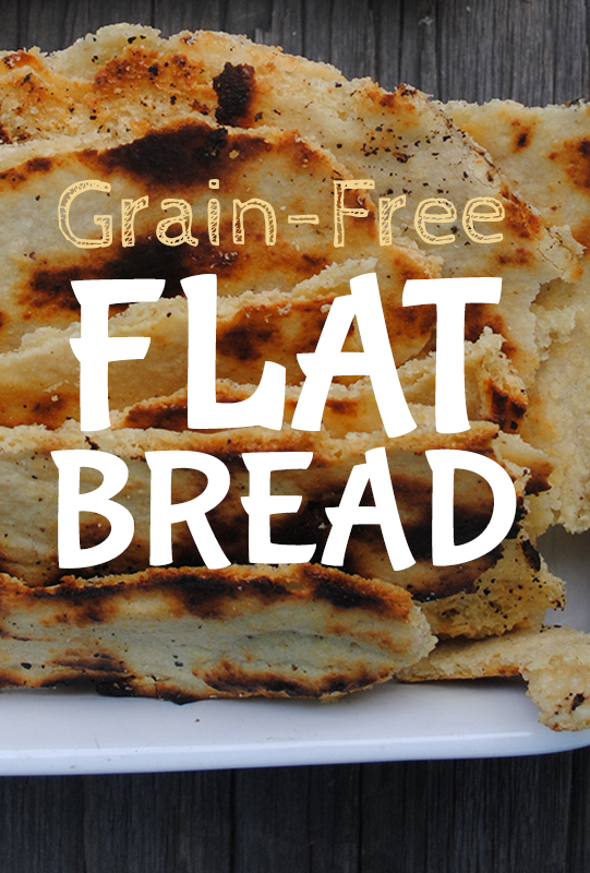grain free flatbread by Brittany Angell